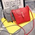 Bolsas de Couro das mulheres Famosa Marca Pequena Mulheres Messenger Bags Feminino bolsas de Ombro Crossbody Bag Mini Bolsa Da Embreagem Cor do Saco de Doces