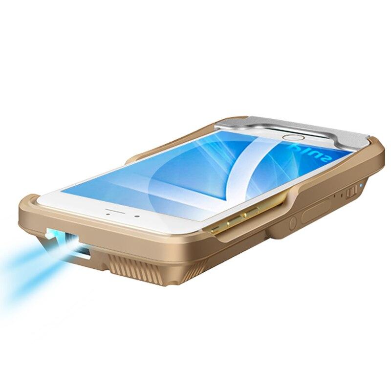 Pico Mini Projector LED Pocket DLP Mobile Phone 1080P Home Cinema Pico Portable Micro HD For iPhone X 7 8 Plus iPad Gift i60 IOS 1