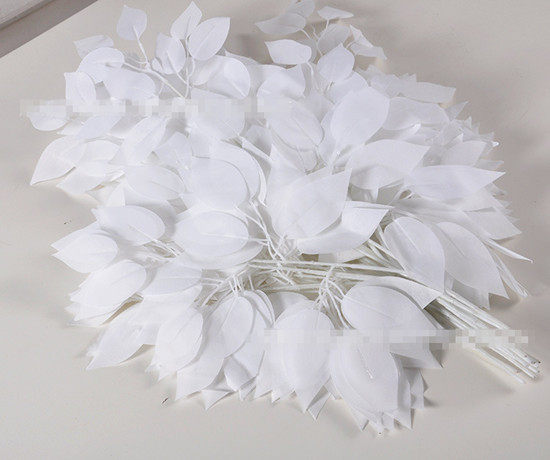 Tienda Online Alta calidad color blanco hojas artificiales ...