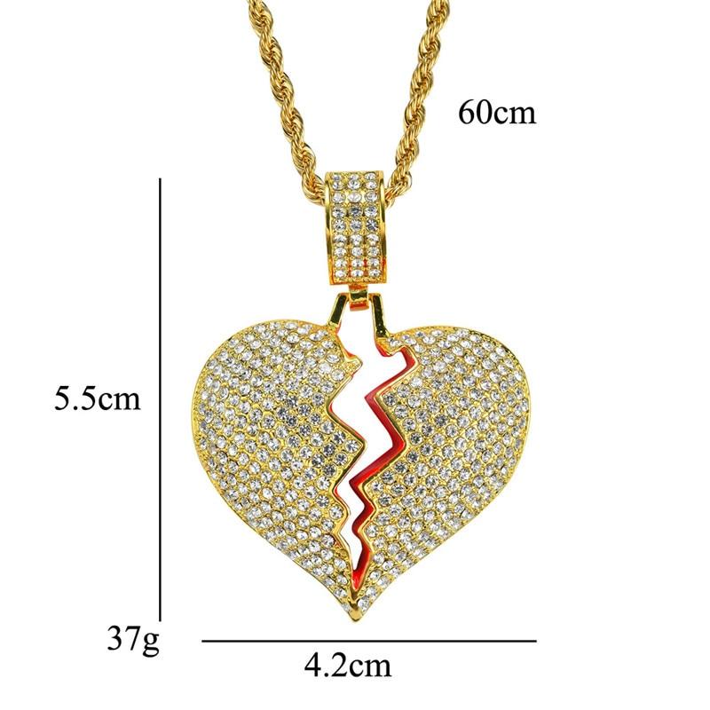 Хип-хоп ювелирные изделия Модные золотые длинные цепочки ожерелья для женщин и мужчин персонализированные буквы Орел молитвенный знак карта кулон ожерелье - Окраска металла: N051-1