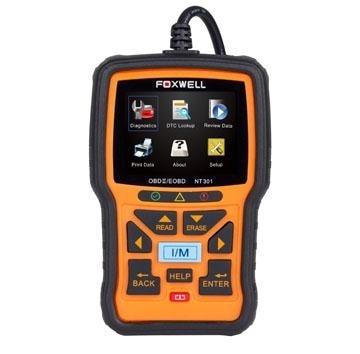 ФОТО best auto scanner odb2 scanner Foxwell NT301 EOBD OBD-II OBD2 Engine Diagnostic Scan Tool + Live Data Graphing