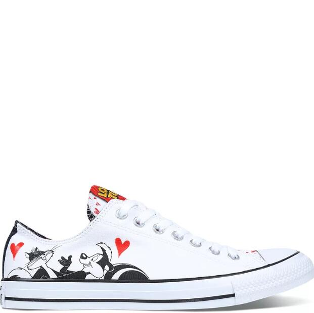 Detail Feedback Questions about 2018Original Converse Chuck Taylor All Star  Men s women 2018 classic sneakers low Cartoon Skateboarding Shoes szie 36  44 on ... 5fbcfe02a729