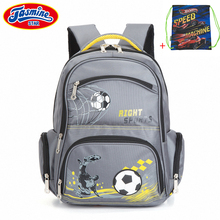 Jasminestar детей рюкзак для школы мальчик подросток Mochilas infantis большой Ёмкость Водонепроницаемый школьная сумка рюкзак для Обувь для мальчиков