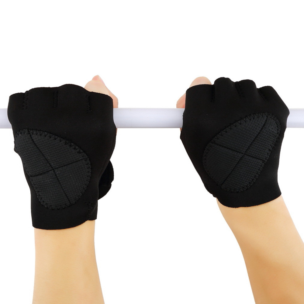 1 Pair Sports Gloves Gym Weight Lifting Fitness Exercise Training Gym Gloves Multifunction For Men Women Suitable For Sports