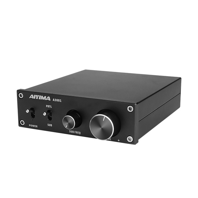 AIYIMA TPA3255D2 Amplifier 300W HIFI Mono Channel Audio Power Subwoofer Amplifier Class D AMP NE5532 OP AMP For Home Sound Audio
