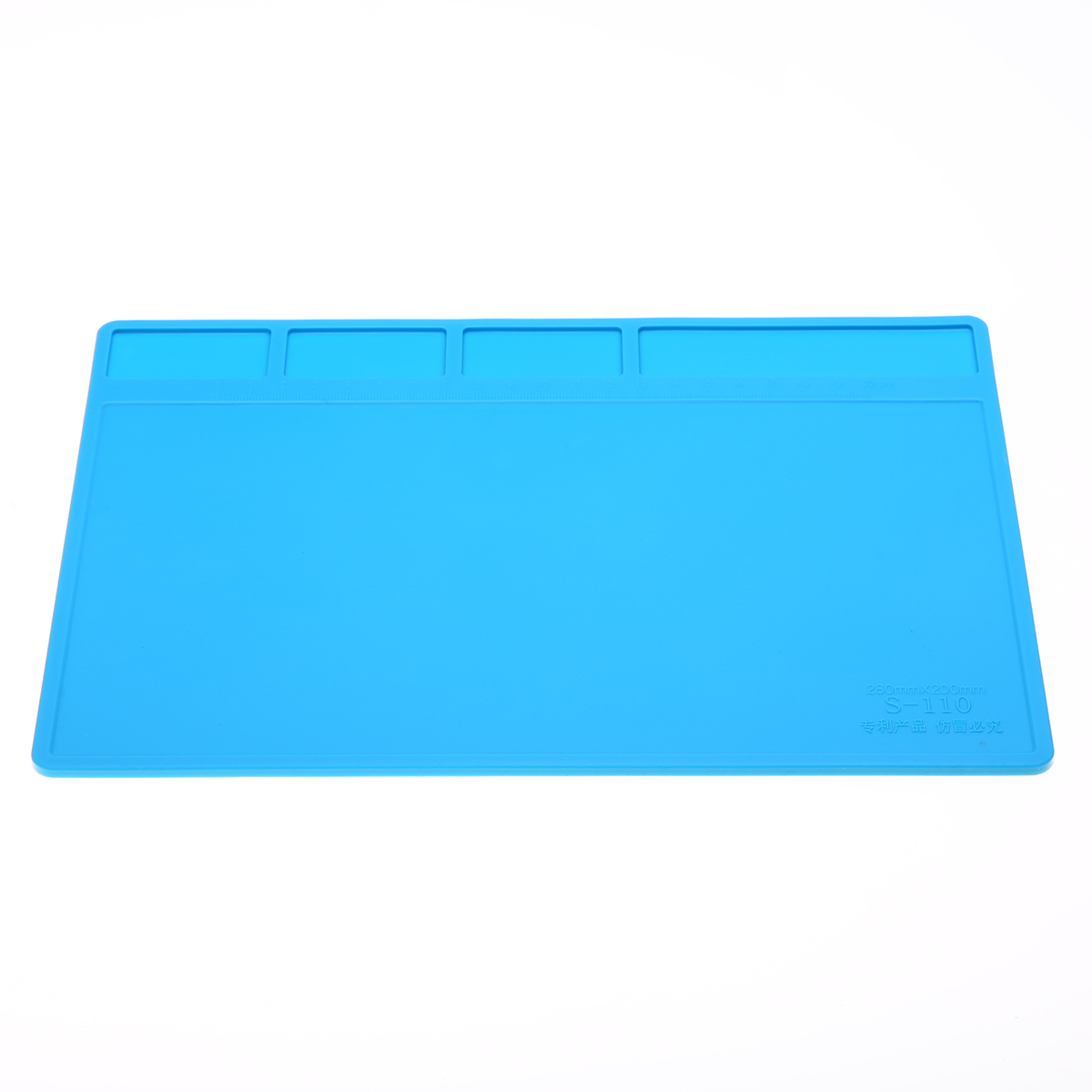1pc Silicone Soldering Pad Heat resistant Hot Gun BGA Solder Mat Repair Maintenance Platform Repair Tool
