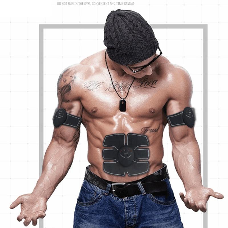 Fitness bodybuilding elektrische muskelstimulator bauchtrainingsgerät ems trainer slimmerbelt
