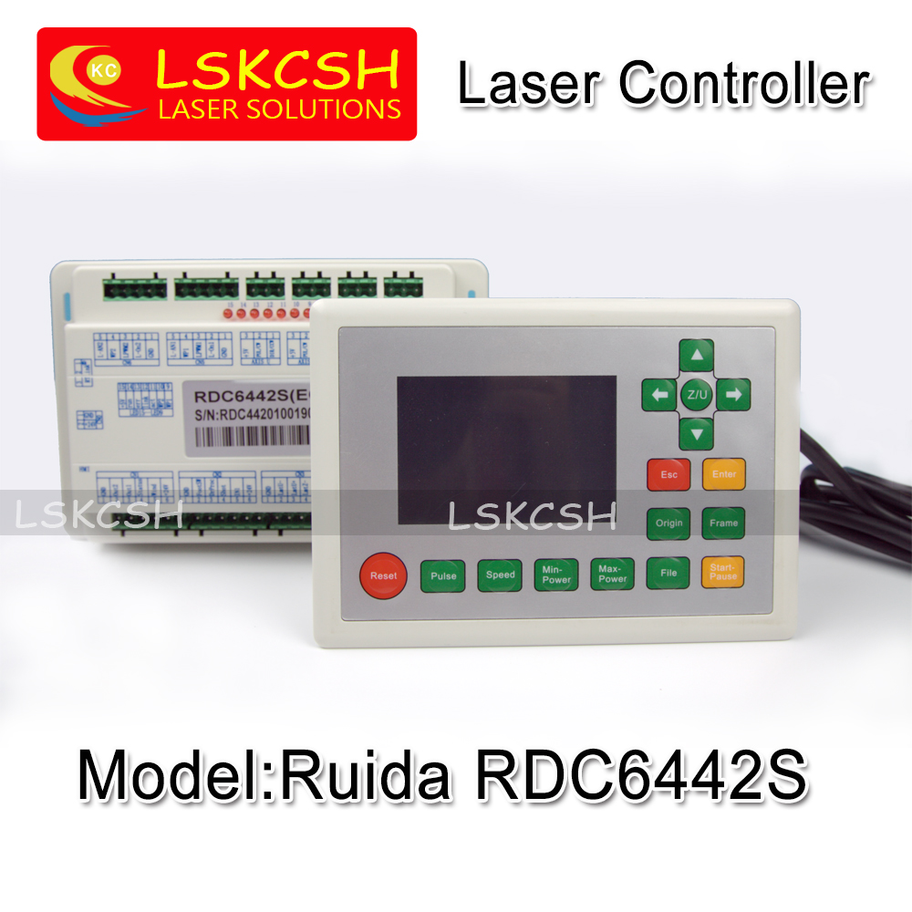 Free Shipping Ruida RDC6442S Co2 Laser Spare Parts Laser Machine Controler Co2 Laser Controller System co2 laser machine laser path size 1200 600mm 1200 800mm