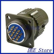 1.5 мм Диаметр Контакта 14 Pins Авиации Круглые Connector AC 500 В 10A