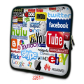 Notebook Sleeve Laptop Bag case cover pouch For lenovo yoga tab 3 pro 9.7'' 10.1'' 10.2'' inch notebook NS10-3261a