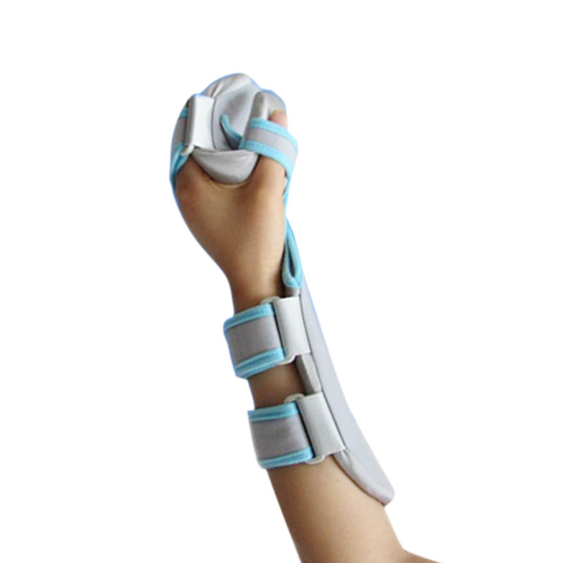купить New Sprain Forearm Hand Splint Finger Wrist Fracture Fixation Scaffold for Sprain Fracture (Left/Right)