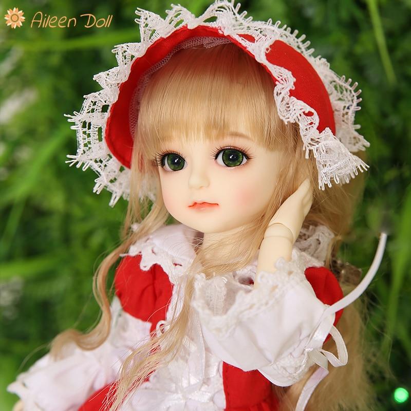 1//6 bjd doll VANILLA big eyes girl dolls free eyes with face make up resin toy