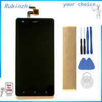 RUBINZHI With Tape Tools Mobile Phone LCD Display For Tele2 Maxi Plus LCD Display Screen With Touch Screen Assembly