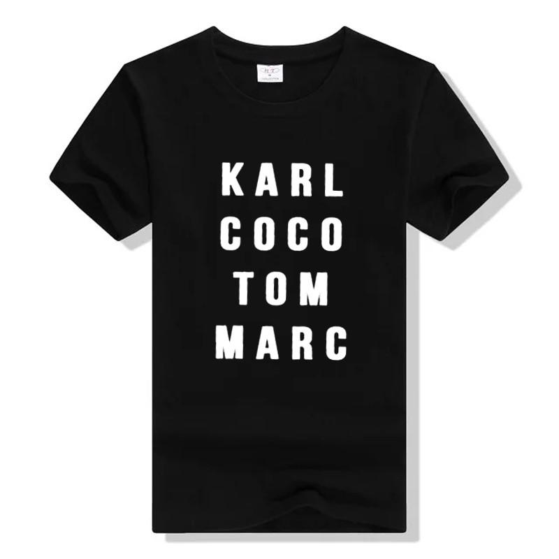 HTB1Gh0HLXXXXXXdXpXXq6xXFXXXZ - Karl Coco Tom Marc Fashionista T shirt PTC 113