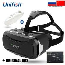 VR Shinecon II 2.0 Виртуальной Реальности 3D Movie Game Очки VR КОРОБКА Google Картон Видео Частный Театр для 4.7-6 «смартфон