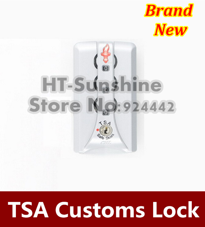 Hot sale  3PCS/LOT   TSA Luggage Locks Security 3 Digit combination Password travel luggage lock padlock Suitcase  Free shipping 2016 orange manual and automatic bluetooth smart window lock bicycle lock luggage lock stainless steel padlock hot sale