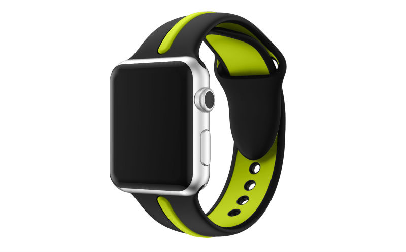for Apple Watch Band, Myk Silikon Armbånd Watch Band Sport Replacement Strap Armbånd for Apple Watch Band