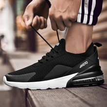 Men Casual Shoes Spring Autumn Breathable Sneakers Men Air Cushion Mes