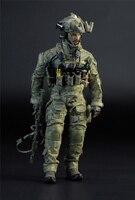 1/6 масштаб M009 ВМС США SEAL Team Шесть полный набор фигурки для коллекции