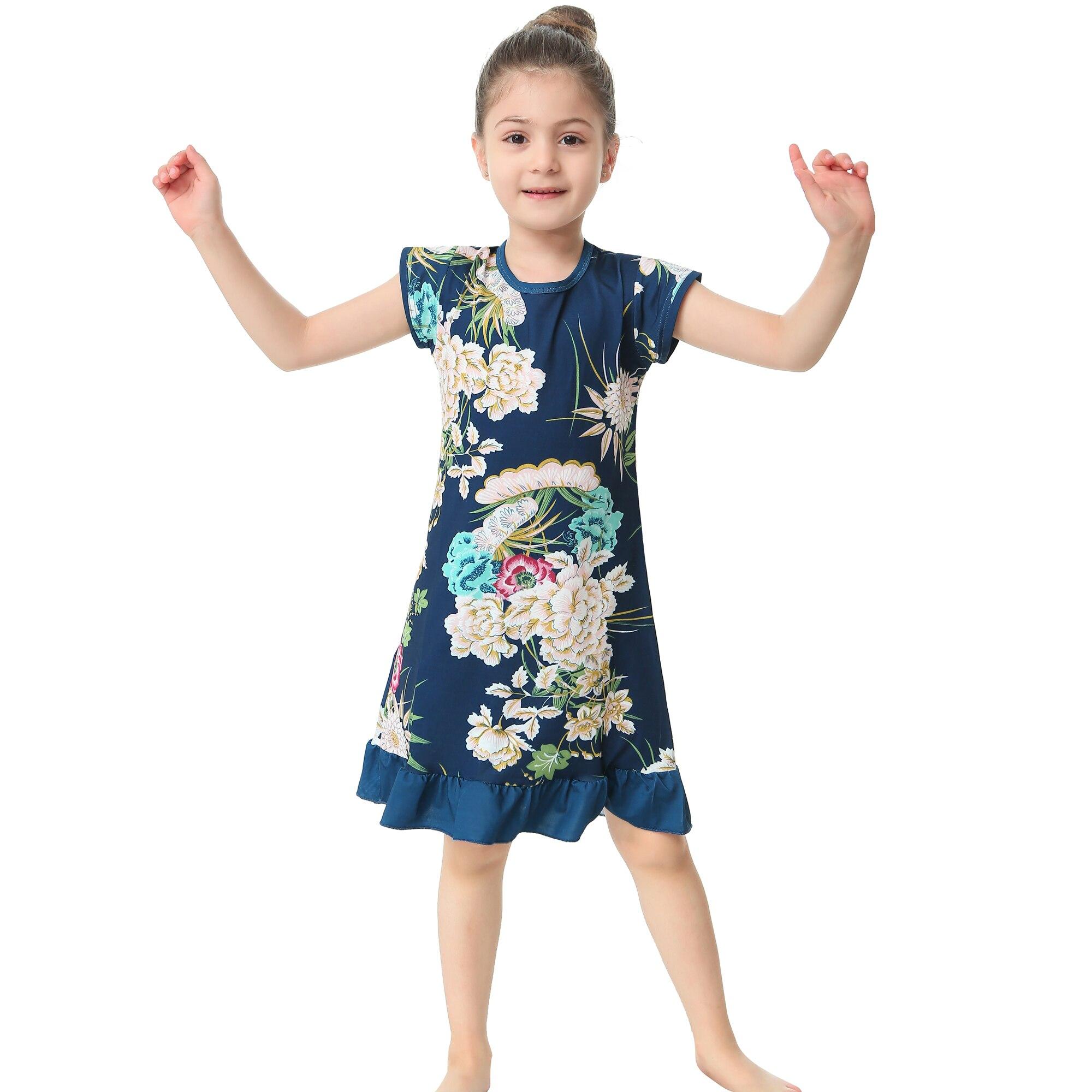 271 26 De Descuento2019 Nuevo Diseño Niñas 3d Vestidos De Impresión De Flores Niños Niñas Princesa Castillo Vestido Vestidos De Bebé Ropa Para