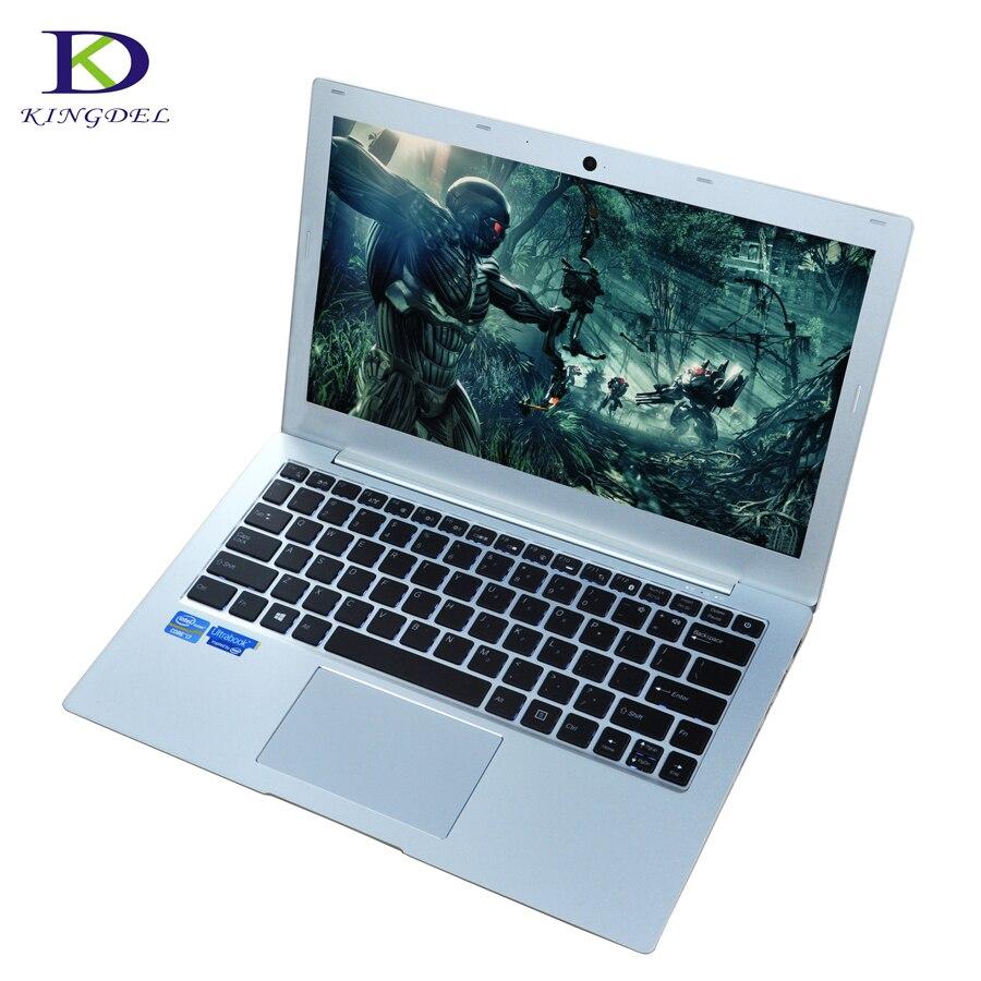 13.3 Inch Backlit Keyboard Ultraslim Laptop I7 7500U CPU Notebook With DDR4 RAM NGFF SSD Buletooth Camera Windows10 Computer
