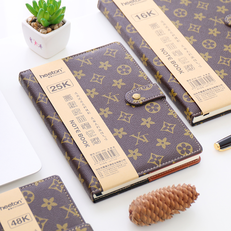 HEETON Luxury Classic Notebook A6 A5 B5 Hardcover Notebook Business Notepad 1PCS