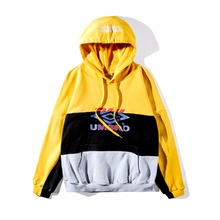 18ss Newest High Quality hiphop fashion Men womem Splice cooperation Oversized VETEMENTS DHL Letter pullover Hoodies Sweatshirts