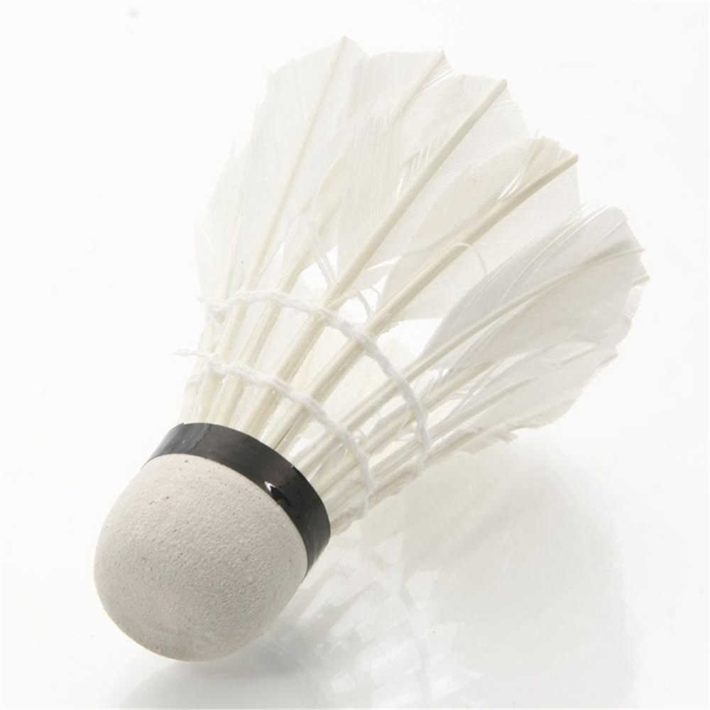 1 pcs Goose Feather Shuttlecock Competition Badminton Shuttlecocks for Professional Outdoor Badminton Training