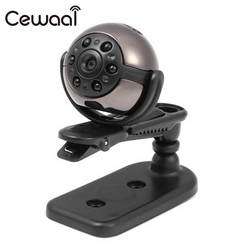 Cewaal HD 720P 360 Degree Rotation Camera IR Infrared Night Vision Video Recorder Camcorder