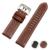 Boa Qualidade Couro Genuíno Do Vintage com costura artesanal Pulseira De Substituição para L relógio