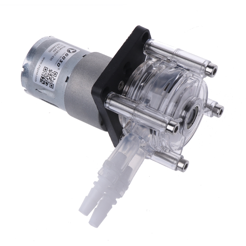 DC 12/24V Peristaltic Pump Large Flow Dosing Pump Vacuum Aquarium Lab Analytical #0305# mini diy dosing pump peristaltic pump dosing head for aquarium lab analytical water pump with high flow l kamoer kds