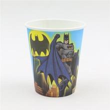 Cups with Batman Pattern 12 pcs/lot