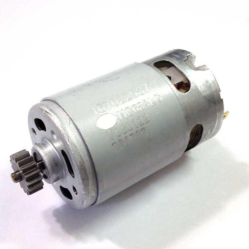 HC683LG DC Motor 18V With Gear 16 Teeth For BLACK DECKER Drill Screwdriver Accessories