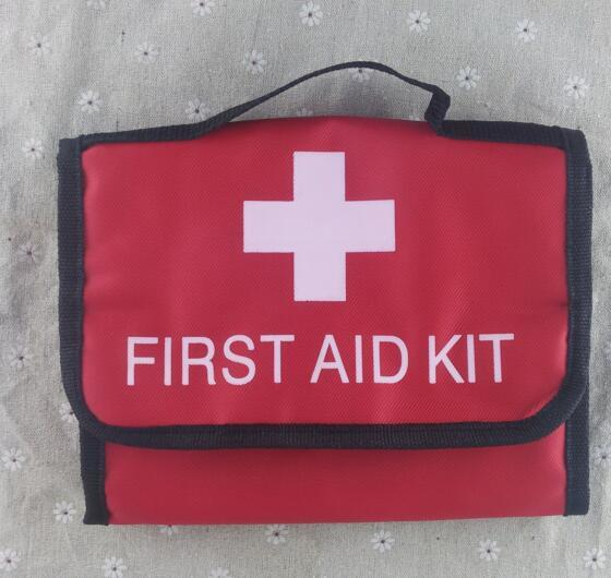 bag Outdoor Wilderness Survival Travel First aid Kit Camping Hiking Medical Emergency Treatment Pack Set outdoor survival 12 in 1 emergency bag first aid kit bag middle size red emergency survival medical kit treatment pack