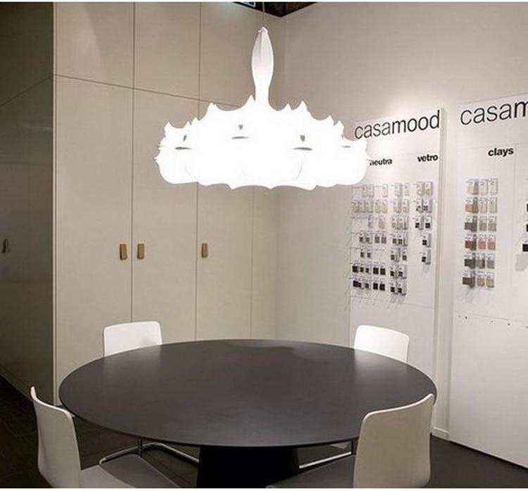 Modern Cloth Chandelier Lighting Dining Room Pendant Lamp Handmade Sericultural 6 Light Zeppelin By Marcel Wanders In Chandeliers From Lights