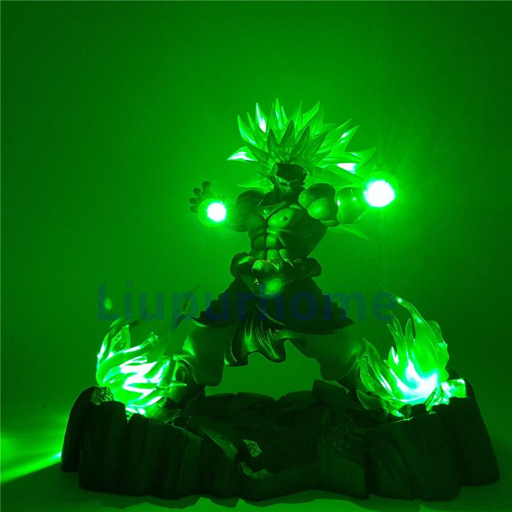 Led Lamps Led Night Lights Reliable Dragon Ball Z Broly Led Light Super Saiyan Action Figures Led Head Lighting Pvc Anime Dragon Ball Broly Diy Led Light Dbz