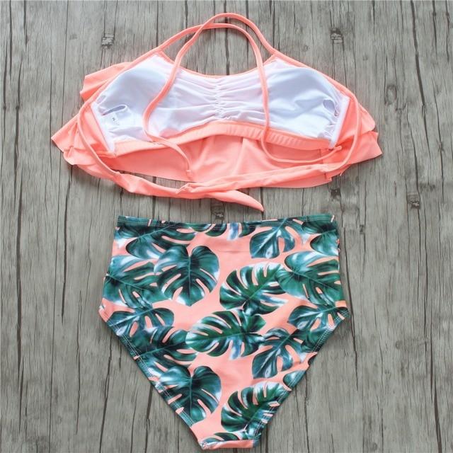 Plus Size Fashion Swimsuit 8