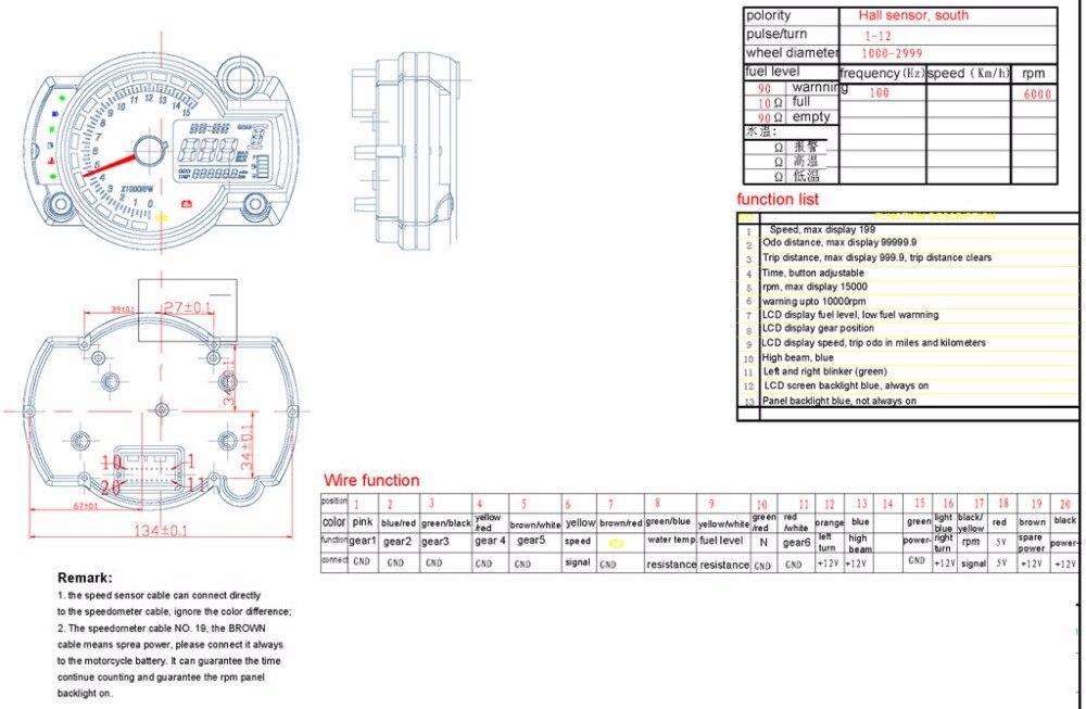 15000rpm modern rx2n similar lcd digital motorcycle odometer rh aliexpress com Basic Electrical Wiring Diagrams Residential Electrical Wiring Diagrams