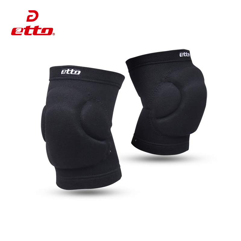 Etto New 1 Pair Football Protective <font><b>Pads</b></font> Sponge Goalkeeper Knee Cap Volleyball Basketball Sports Knee Support Fitness Knee <font><b>Pads</b></font>