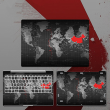 Old World Map Laptop Sticker for Xiaomi Notebook Mi Air 12.5 13.3 Pro 15.6 Vinyl Decal Skin Cover 12 13