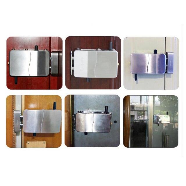 RAYKUBE serrure de télécommande intelligente   Sans fil, Anti-vol, pour verrouillage Invisible, serrure de porte électrique, serrure intelligente, 3 °