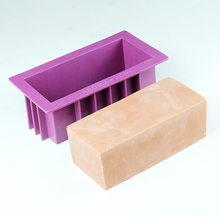 Silicone Soap Mold Rectangular Loaf Mould Handmade Making Tool