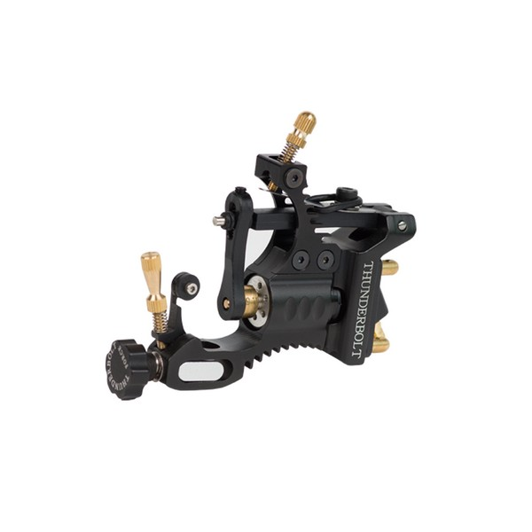 Newest Develop Black Thunderbolt Force Rotary Tattoo Machine High Quality Shader&Liner Rotary Tattoo Gun Supply Free Shipping professional 1 bottle tattoo ink for lining and shading newest tribal liner shader pigment black newest 249ml drop shipping