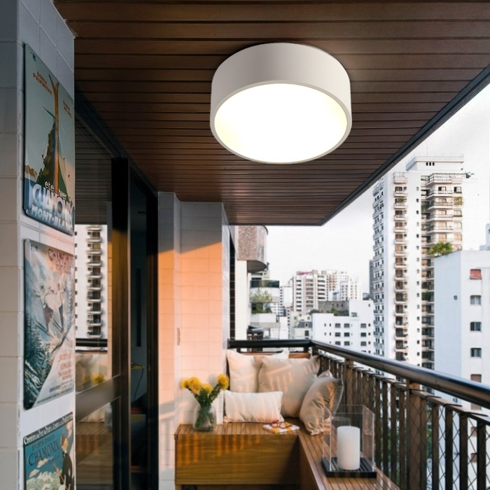 Exceptional 2017 Balcony Mini Led Light Nordic Style Black U0026 White Porch Lamp Home  Office Round Small Ceiling Light Bedroom Study Work Lamps In Ceiling Lights  From ...
