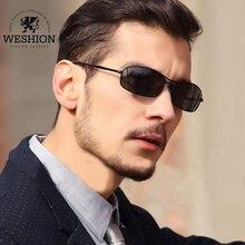 WESHION Sunglasses Men Women Polarized Oculos Small Size Night Driving Vintage Sun Glasses 2018 Lunettes De Soleil Pour Femmes