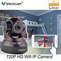 Vstarcam c7837wip hd 720 p wifi cámara ip con app eye4 red wireless IP Cámara de la ayuda 64 GB Tarjeta P2P Onvif 2.0 H2.64 interior