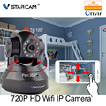 Vstarcam c7837wip hd 720 p wifi cámara ip con app eye4 red wireless IP Cámara de la ayuda 64 GB Tarjeta P2P Onvif 2.0 H2.64 interior