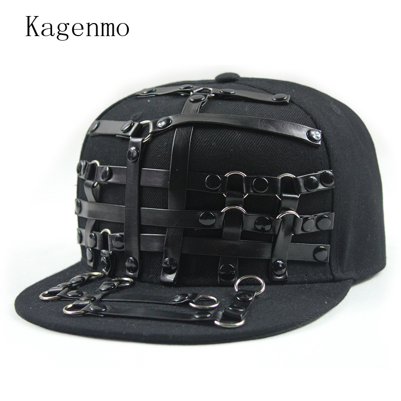 Kagenmo Cool Flat Brim Baseball Cap Hip Hop Sports Hat Team Show Cool Cap Fashion Outdoor Novelty Visor Unisex military hat flat cap m177