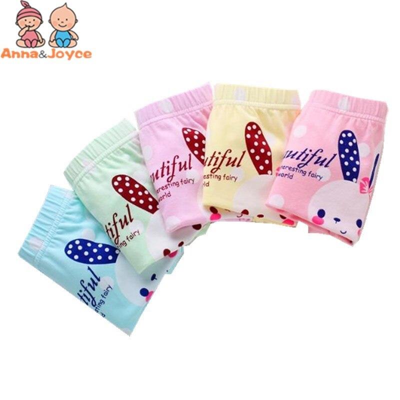 3pcs/lot Girls Cartoon Boxer  Panties  Children's Underwear Cotton Boxer Carton Underwearprincess Girls Briefs 2