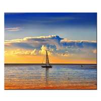 No Frame Seascape Sailing Boat Poster Canvas Wall Picture Painting Room Decor Art Dceoration Print Graphic